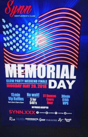Memorial Day Finale