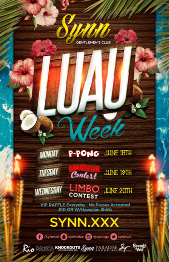 Luau Week Begins