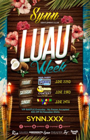 Luau Week Weekend