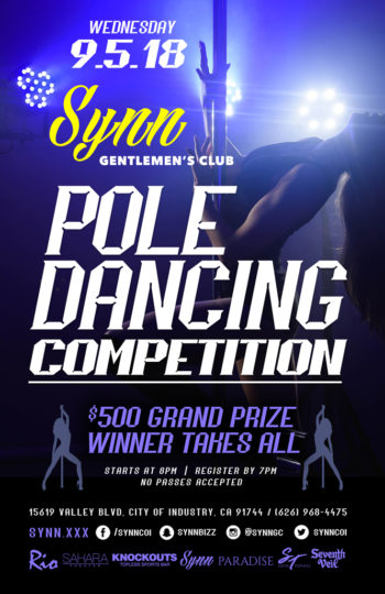 Pole Dancing Contest